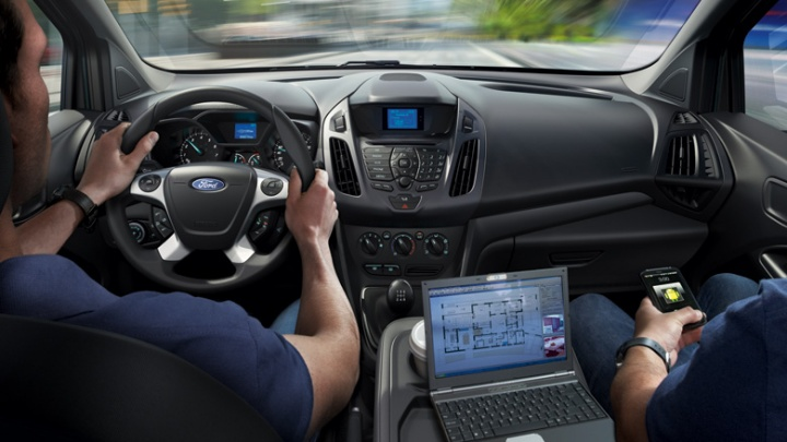 Transit connect dekkerautogroep for Ford transit connect interior
